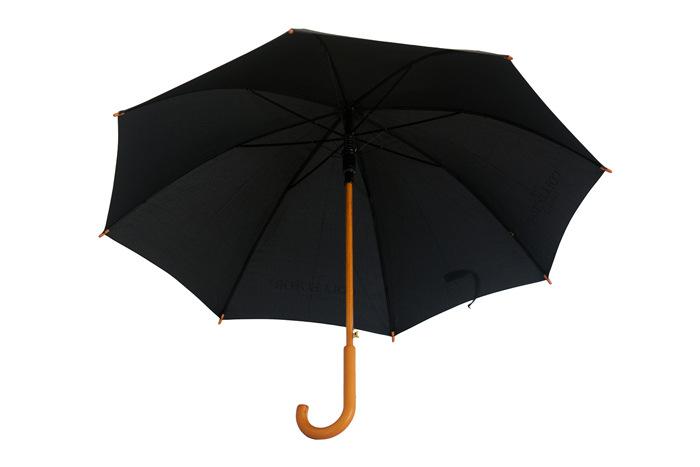 弯柄广告伞