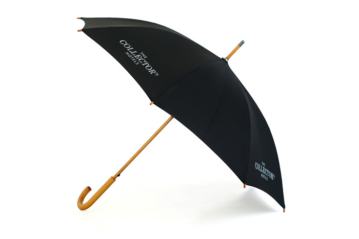 实木广告伞